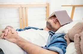 Sleep with Book