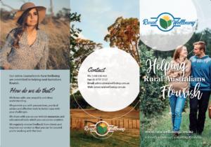 rural wellbeing brochure outside